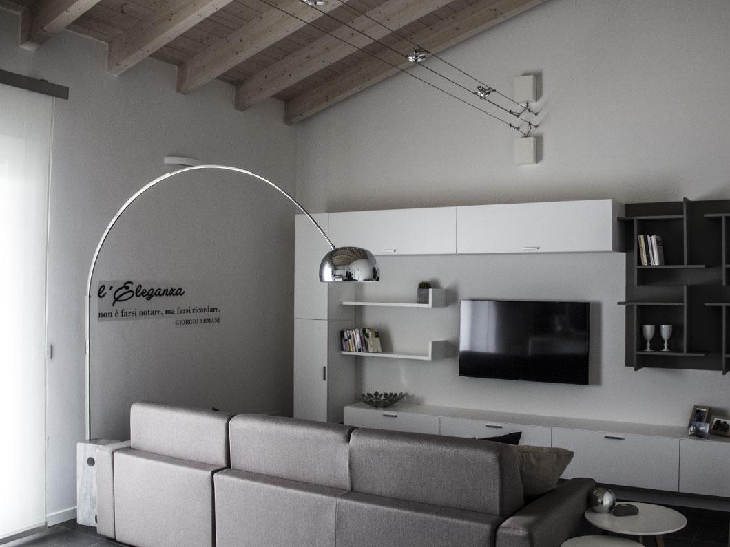 Un appartamento dal sapore moderno