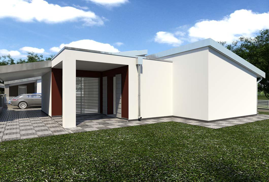 Villette singole montanara di for Planimetrie case moderne